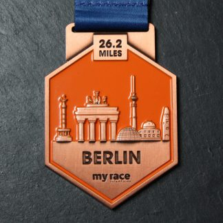 Berlin- MyRace Virtual Marathon Majors - Virtual Race medal