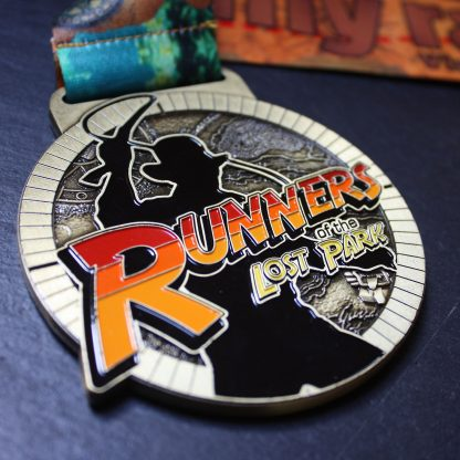Runners of the Lost Park - Virtual Race Medal