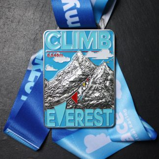 Climb Everest elevation - Virtual Race Medal