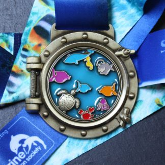 Save our Seas - Virtual Race Medal