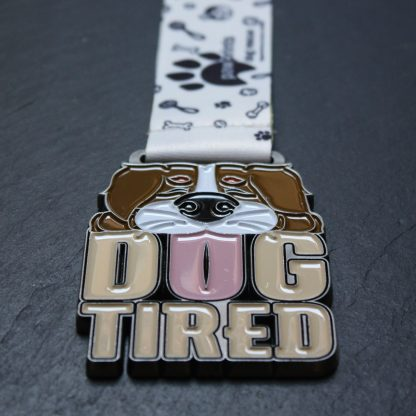 Dog Tired - Virtual Race Medal
