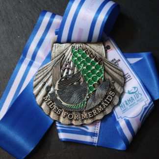 Miles for Mermaids - Virtual Race Medal