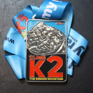 K2 - Virtual Race Medal