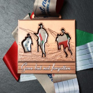 Gone but not forgotten - Virtual Race Medal