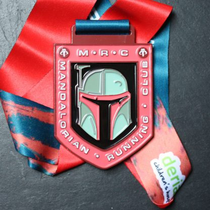 The Mandalorian - Virtual Race Medal