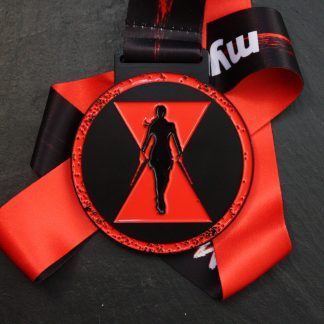 Widow Maker - Virtual Race Medal
