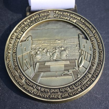 D-Day - Virtual Race Medal