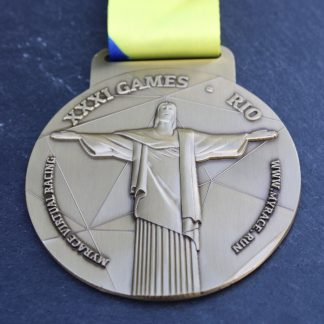 Gold Rush - Virtual Race Medal