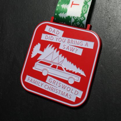 12ks of Christmas - Virtual Race Medal