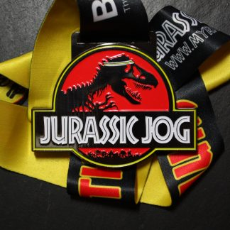 Jurassic Jog - Virtual Race Medal