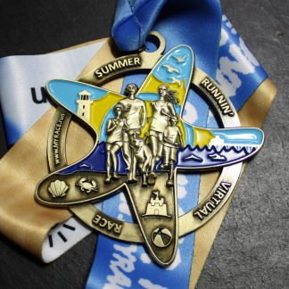 Summer Running - Virtual Race Medal