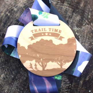 Trail Time - Virtual Race Medal