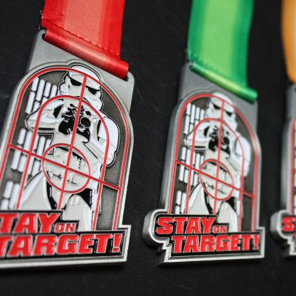 Stay on Target - Virtual Race Medal